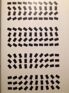 Ted van Lieshout is een meester in het bedenken van ritmes...